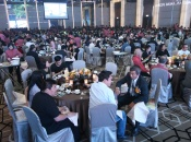 Attendees at the Golden Midas Charity Nite